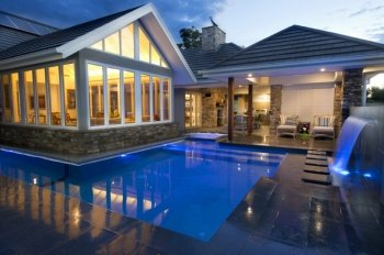 Concrete Swimming Pool Builders Newcastle. Vision Pools